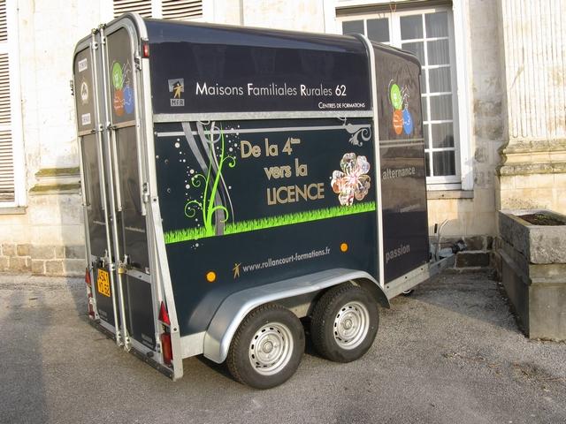 Un van utilisable avec le permis B